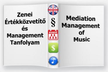 Zenei Management képzés